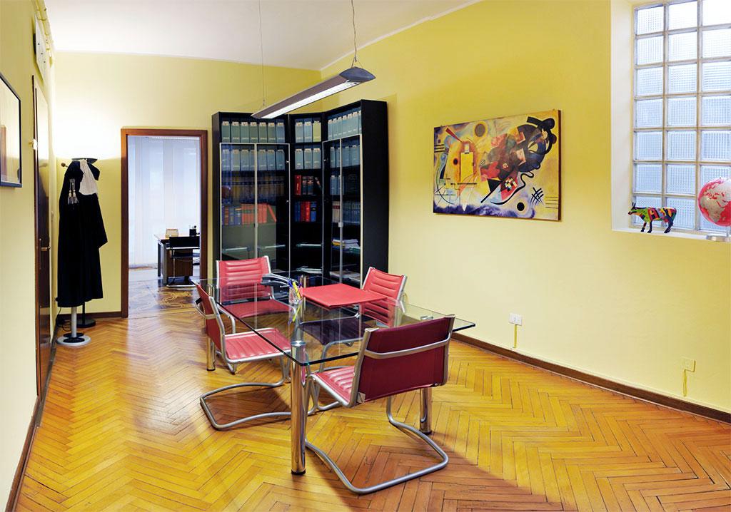 Avvocato Alessandro Luciano Studio Legale Padova - La Sala Riunioni dello Studio