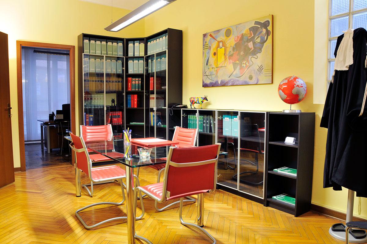 Panoramica sala riunioni - Studio Legale Luciano - Padova